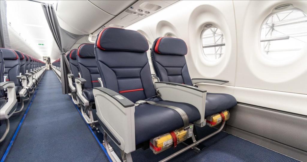 Na palubě bude také 15 sedadel v oddělené třídě Comfort