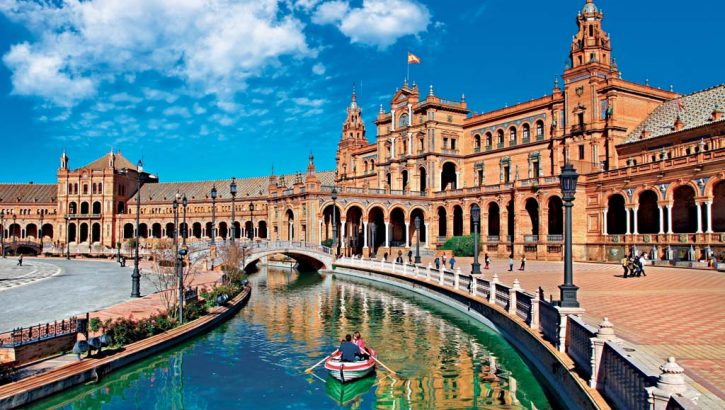 Plaza de España v Seville, Foto: Shutterstock.com