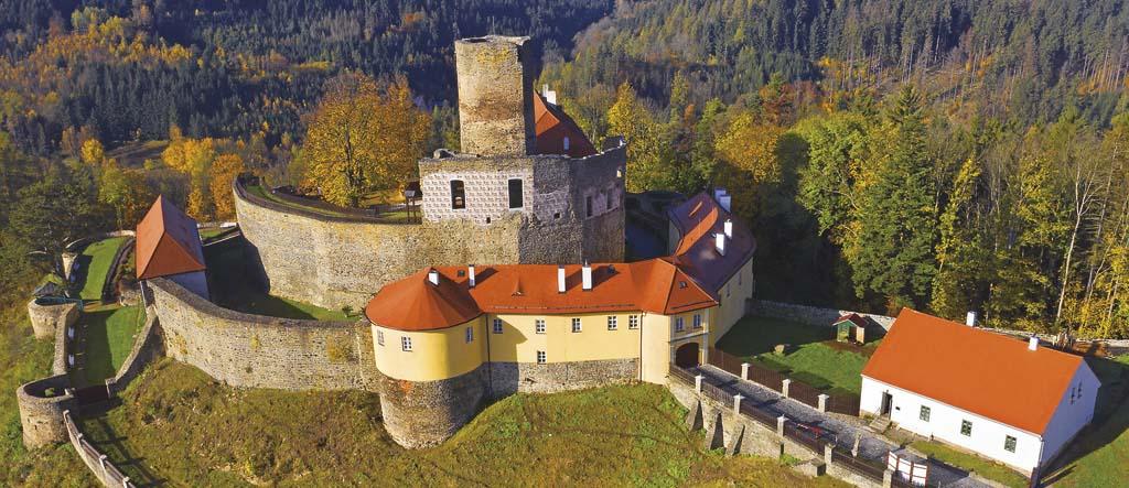 Hrad Svojanov, foto: Shutterstock.com